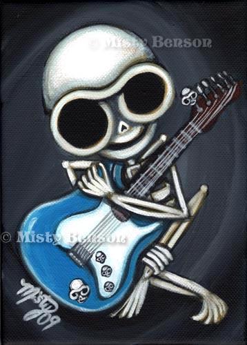 Guitar Skelly
