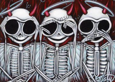 Three Wise Skellies