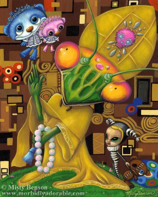 05: Hierophant – Original Tarot Painting